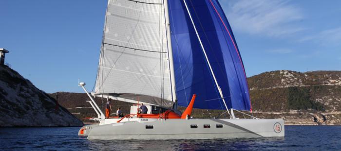 x-factor electric catamaran