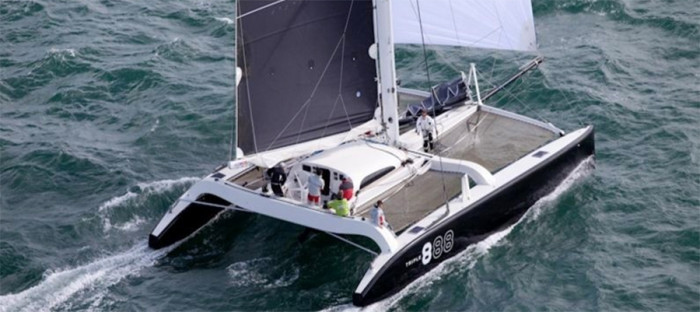 crowther 50 electric catamaran triple 8