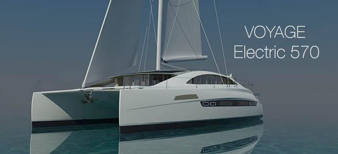 voyage e570 hybrid catamaran oceanvolt