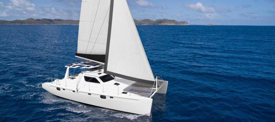 Voyage 480 Electric Catamaran