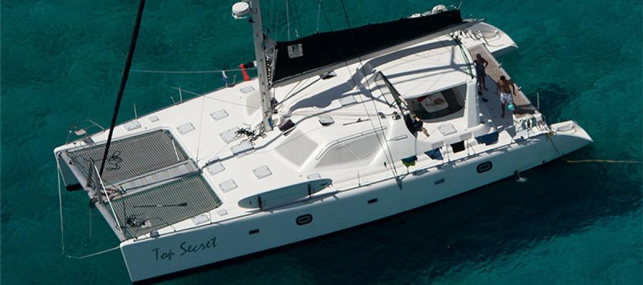 voyage 580 hybrid catamaran oceanvolt