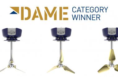 Oceanvolt ServoProp – Category winner DAME Awards 2017!