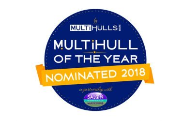 ServoProp powered ITA 14.99 Multihull of the Year 2018 Nominee!