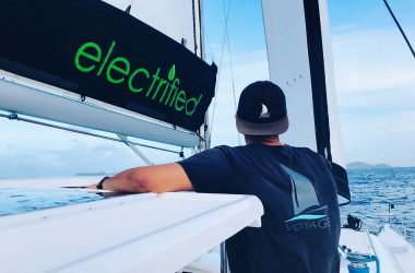 Value of electric propulsion for sailboats: Self-sustainable vessels with infinite range