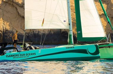"La Bella Verde – Solar Powered Clean-up Catamaran ""IBI"""