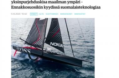 Oceanvolt featured in Kauppalehti