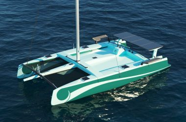 LBV35 – World´s first recyclable composite boat