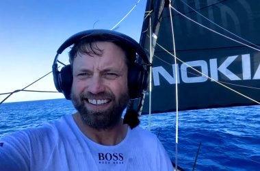 "Alex Thomson ""sailing once again"" onboard HUGO BOSS"