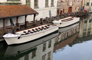 Bruges tourist boats