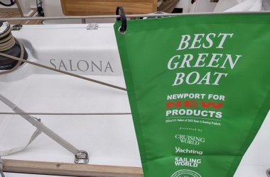 Salona 46 wins Best Green Boat Award at Newport Boat Show!